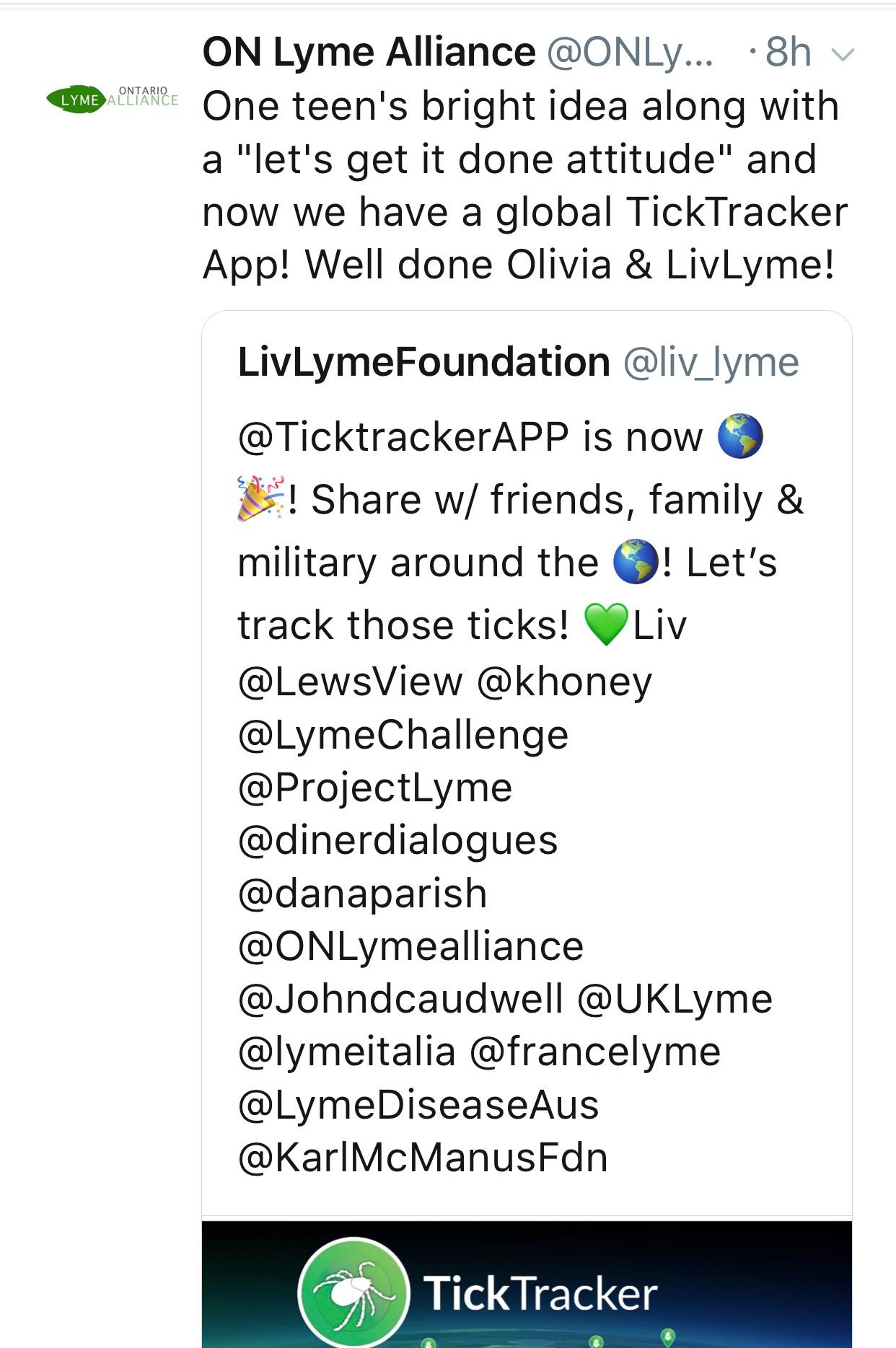 TickTracker_Ontario-Lyme-Alliance-Tweet_LivLymeFoundation